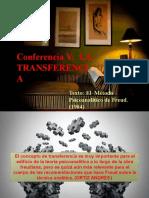 Conferencia V La transferencia (1)