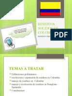 RESIDUOS SOLIDOS EN COLOMBIA