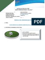 MÓDULO N° 07- EDUCACIÓN FÍSICA