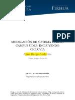 BURGA, 2018 - Modelacion de sistema vial en campus UDEP, incluyendo CICLOVÍA.pdf