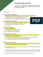 PARCIAL 1 HACIENDA PUBLICA GASTO PUBLICO