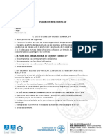 Evaluacion Induccion SST 2020