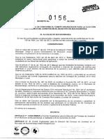 DECRETO-0156-COMITE-ELECCION-CONSEJO-DE-JUVENTUD