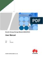 BoostLi Energy Storage Module ESM-4875A1 User Manual