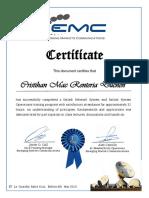 Certífícate EMC Satlink Network Operations