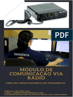 Comunicação Módulo de Rádio.
