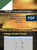 Voltage Controlled Oscillator (Updated)