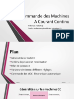 Commande des Machines CC_Electro4 CA