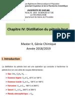 Chapitre 4_Distillation du pétrole brut