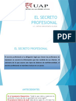 EL SECRETO PROFESIONAL 17-10