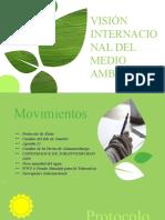 VISIÓN INTERNACIONAL DEL MEDIO AMBIENTE