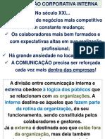AULA 7 2017 - COMUNICAÇÃO INTERNA COMO ESTRATÉGIA DE GESTÃO