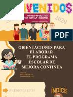 ORIENTACIONES PARA ELABORAR EL PEMC, EDITABLE.