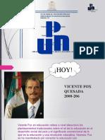 Exposición Vicente Fox_Mtra_DORIS