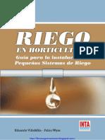 Riego en horticultura. Guía para la instalación de pequeños sistemas de riego.pdf