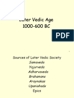 Later Vedic Age