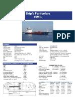 Cimil 9487378 Oil Chemical Tanker 71385