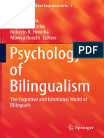 Psychology of Bilingualism The Cognitive and Emotional World of Bilinguals by Alfredo Ardila, Anna B. Cieślicka, Roberto R. Heredia, Mónica Roselli