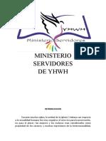 Compendio Ministerio Servidores de YHWH