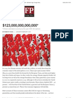 """Why China's Economy Will Grow to $123 Trillion by 2040 - By Robert Fogel 