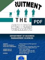 Department of Business Management Sciences