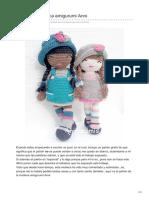 Anni muñeca amigurumi