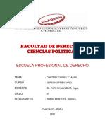 CONTRIBUCIONES Y TASAS - DENNIS RUEDA MONTOYA