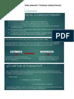 Presentacion de Tecnicas Conductuales