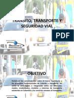 CURSO TRANSITO, TRANSPORTE Y SEGURIDAD VIAL