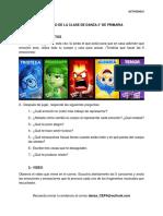 ACTIVIDAD 6 CLASE DE DANZA 3° DE PRIMARIA