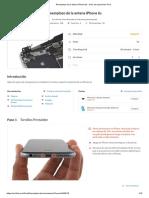 Reemplazo de la antena iPhone 6s - Guía de reparación iFixit