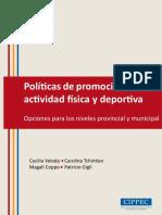 Políticas de promoción de la actividad física y deportiva