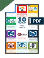 10 Reglas de Oro frente a Covid-19 CKT 3