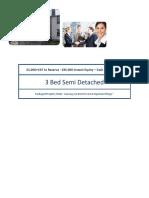 25% Discount & £35k Instant Equity