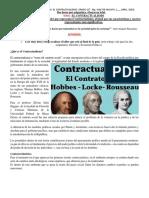 FILOSOFÍA 11 . GUÍA 8 . EL CONTRACTUALISMO. TEORIA FILOSOFÍA-POLITICA.