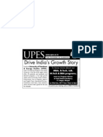 UPES Road Show & Counseling Meet-Bhopal