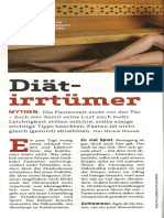 Diät-Irrtümer