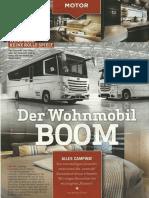 Der Wohnmobil-Boom