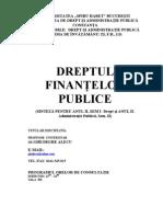 Dreptul Finantelor Publice - Sinteza