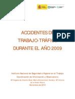 Accidentes de Trabajo-Trafico 2009