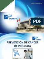 Prevención Cáncer Próstata