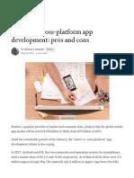 Native vs. cross-platform app development_ pros and cons