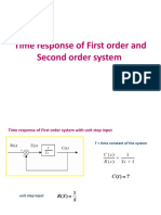 12-System time response-2-14-Aug-2019Material_I_14-Aug-2019_Time_response_of_First_order_and_Second_order