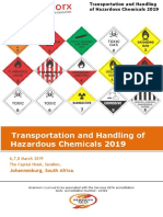 Transportation and Handling of Hazardous Chemical