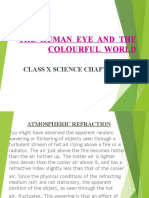 CL X ATMOSPHERIC REFRACTION with exam questions.