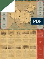 Peony China Map Menu