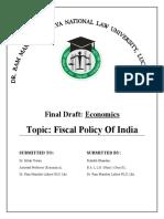 Economics Project final draft 2nd sem.docx