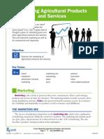 4 pcs of marketings