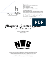 Myth & Magic Revised - Player's Starter Guide
