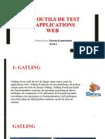 Les Outils de Test d'Applications Web